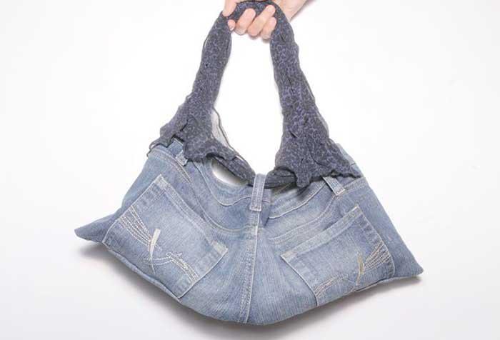 profiter de la livraison gratuite fréquent bien Comment faire des sacs à main et des sacs avec un jean
